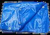 Тент полипропиленовый ( тарпаулиновый ) ламинированый с кольцами 4м*5м плотностью 65гр/м2 ( 20м2 )