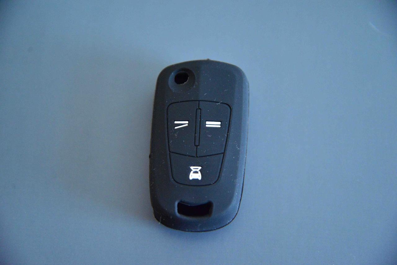 Чехол на корпус выкидного автоключа для OPEL VECTRA (Опель Вектра) 3 -