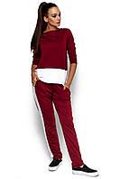 Жіночий червоний спортивний костюм Matrix
