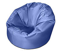 Синее большое кресло мешок из ткани Оксфорд