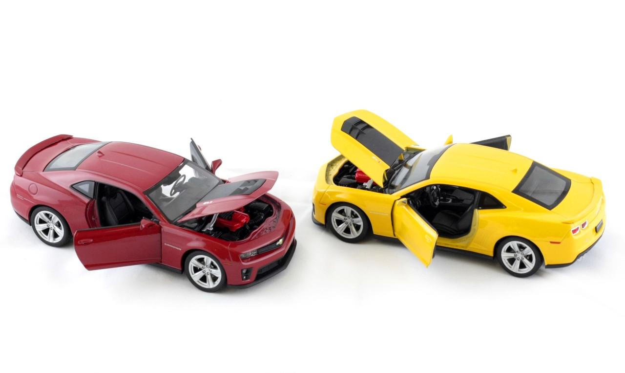 "Машина Welly, ""Chevrolet camaro zli"", металлическая, масштаб 1:24, 24042W"