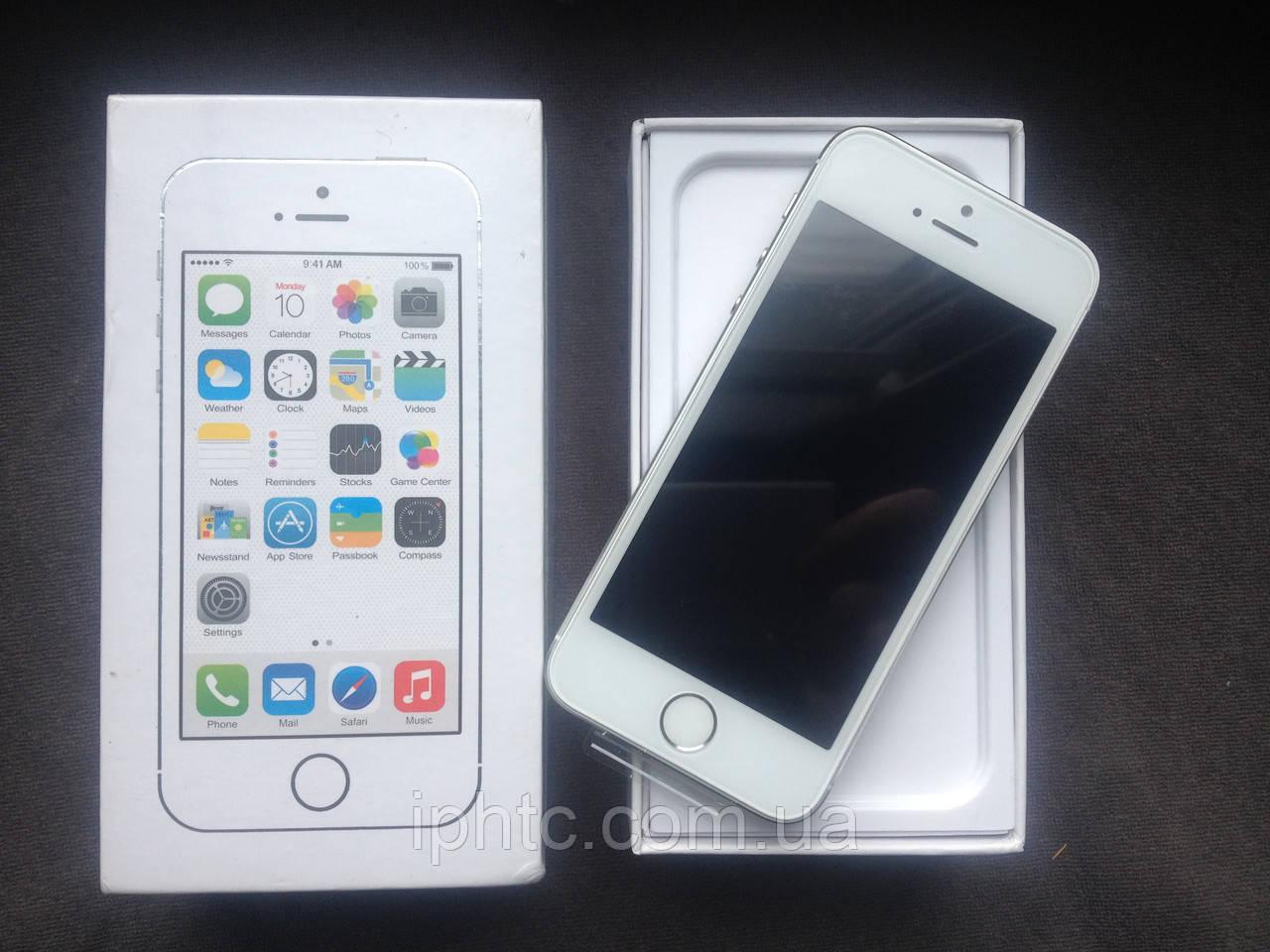 Apple iPhone 5S 16GB Silver /Новый /NeverLock/ Запечатан