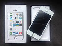 Apple iPhone 5S 16GB Silver /Новый /NeverLock/ Запечатан, фото 1