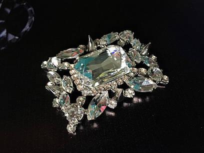 Королевское украшение с камнями, серебро