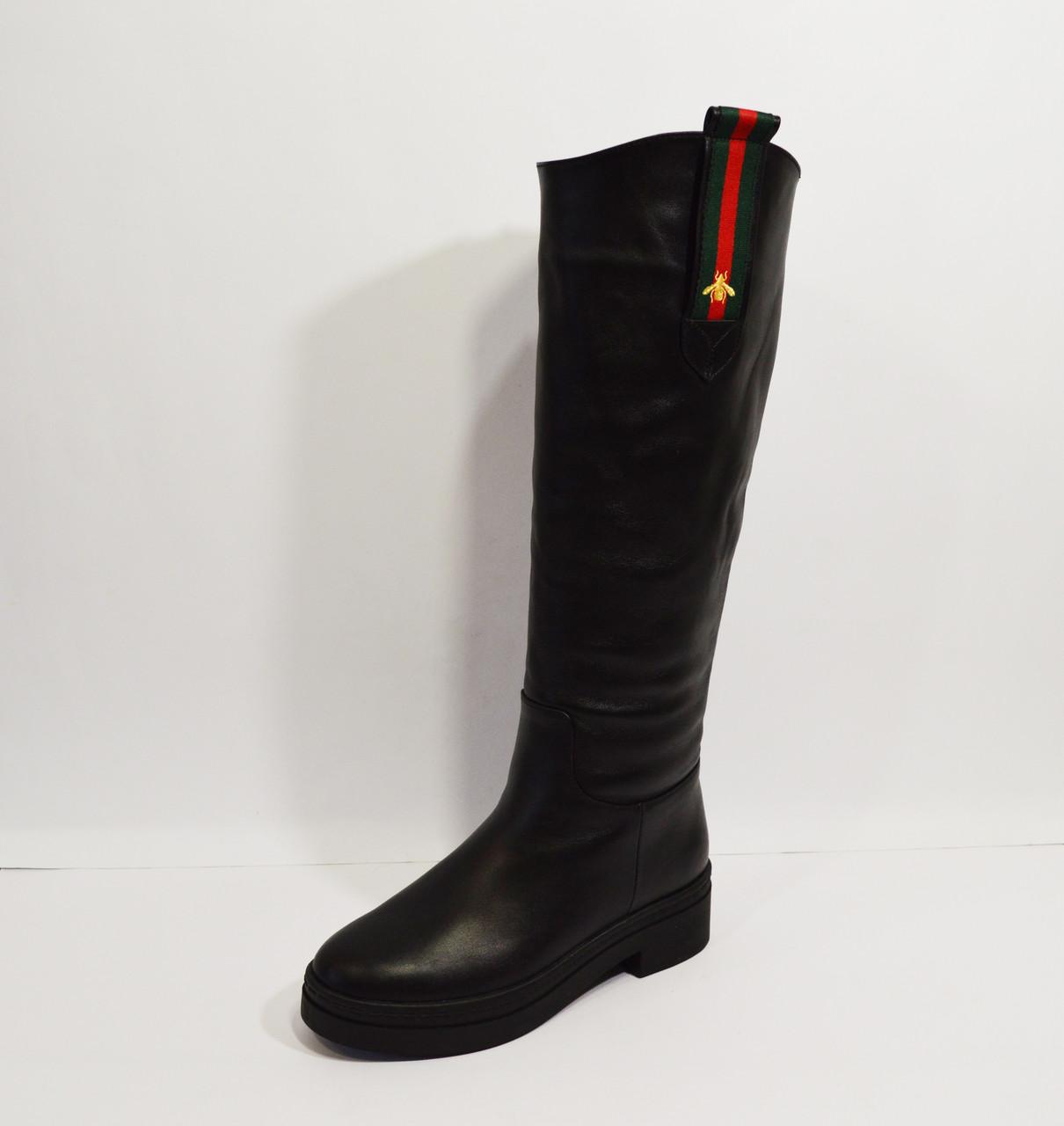 Сапоги женские зимние кожаные Kluchini - КРЕЩАТИК - интернет магазин обуви  в Александрии 6745e75b92948