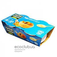 Десерт органический растительный из сои с абрикосом TM NaturGreen 2х125г