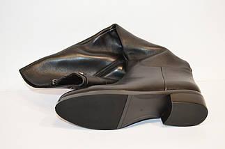 Осенние женские кожаные сапоги Fabio Monelli, фото 3