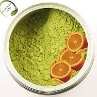 Зеленый кофе молотый с апельсином Арабика 200 гр