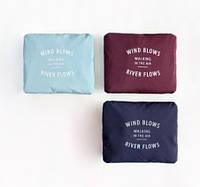 Складная дорожная сумка-подушка