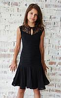 Платье для танцев с драпировкой