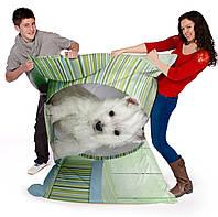 Кресло подушка рисунок 034, кресло мат,кресло мешок,  бескаркасное кресло,пуфик мешок,кресло пуф