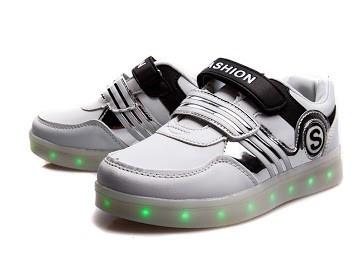 Кроссовки LED подростковые