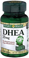 Nature's Bounty DHEA 25 mg 100 Tablets