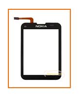 Сенсор (тачскрин) Nokia C3-01 Black Original