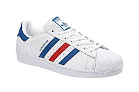 Adidas SuperStar Red Blue Strip, фото 1