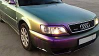 Реснички на фары на Ауди А6 С4 (Audi A6 C4) (1994-1998 год) /комплект