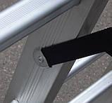 Практика драбина двосекційна 2 х 14 до 6.60 метрів, фото 6