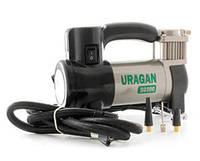 Компрессор URAGAN 7 Атм,35л/мин.,шланг 1м,фонарь,подсветка манометра (2 года гарантии)