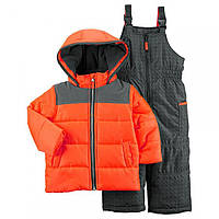 Детский зимний костюм куртка и полукомбинезон Картерс для мальчика, фото 1