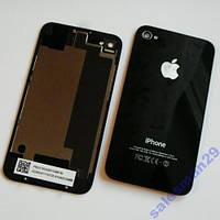 Задняя Крышка Для Iphone 4S Чёрная Супер Качество