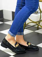 Женские ботиночки на тракторной подошве,лоферы!!!Размер 38!