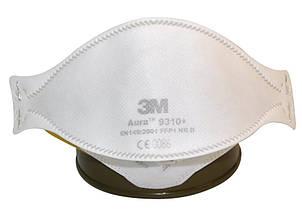Респиратор противоаэрозольный 3M AURA 9310+ FFP1 NR D без клапана, фото 2