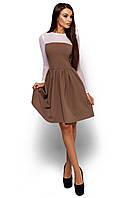 Жіноче темно-бежеве коктейльне плаття Arizona (S, M)