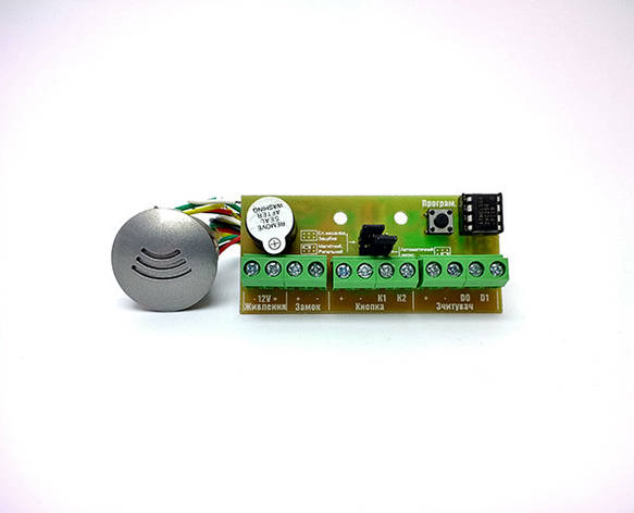 Автономный контроллер доступа Варта МКД-1010ТМ модуль со считывателем SEVEN CR-782, фото 2