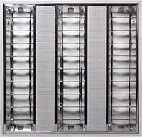 Светильник люминесцентный растровый встроенного типа e.lum.raster.flush.3.14.el с электронным ПРА лампа Т5 3х1