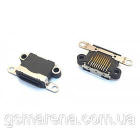 Разъем зарядки iPhone 5 black