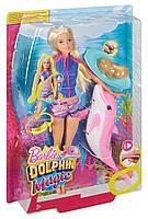 """Набор Barbie Подводное плавание из м/ф """"Барби:Магия дельфинов""""Dolphin Magic Snorkel Fun Friends Playset FBD63"""