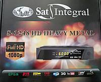 Ресивер (тюнер) Sat-Integral 1248 HD Heavy Metal спутниковый