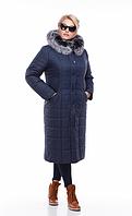 Зимнее женское пальто (из плащёвки) Софи