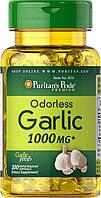 Puritan's Pride Odorless Garlic 1000 mg 100 Softgels