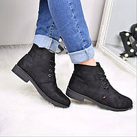 Ботинки женские Classic черные 3580, сникерсы женские