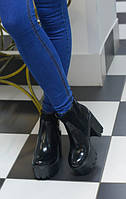 Женские ботинки на тракторной подошве Musthave