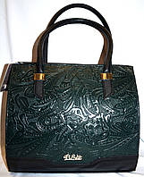 Женская зеленая каркасная сумка B Elit 30*28