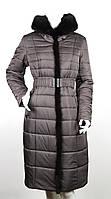 Пальто на верблюжьей шерсти Klasika Moda 1681-5 коричневое