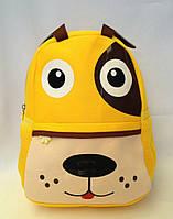 """Рюкзак игрушка детский мягкий"""" Пес """" из неопрена для школы,детсада,в поездку"""