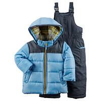 Детский зимний костюм куртка и полукомбинезон Картерс для мальчика 12М