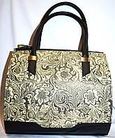 Женская молочная каркасная сумка B Elit 30*28