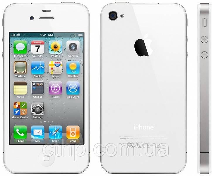 Apple iPhone 4S 32GB NeverLock (White) - CTHP в Черниговской области