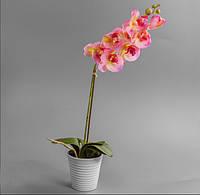 Орхидея в горшочке (силикон, 57 см)