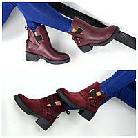 Ботинки Hermes, Натуральный замш, натуральная кожа цвет - МАРСАЛА,