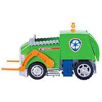 Автомобиль трансформер де-люкс с фигуркой Рокки со светом и звуком Spin Master Paw Patrol (SM16704-4)