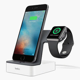 Док-станция Belkin PowerHouse iWatch + iPhone (F8J200vfWHT)