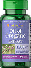 Puritan's Pride Oil of Oregano Extract 1500 mg 90 Softgels