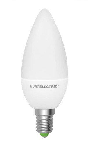 EUROELECTRIC LED Лампа CL 6W E14 4000K