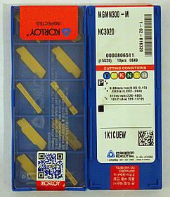 Пластина KОRLOY MGMN300-M NC3020