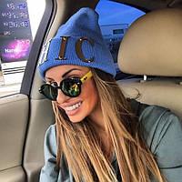 Женская модная шапка,CHIC ,50%шерсть 50%акрил .Турция